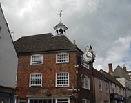 The Tolsey Clock, near Chipping Sodbury